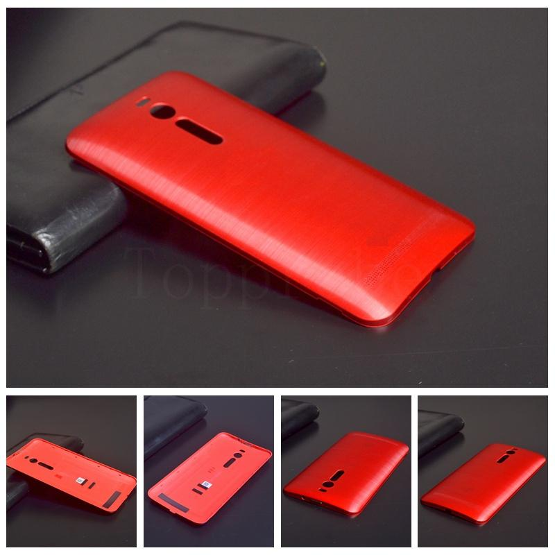 """New 100% original back cover For Asus zenfone 2 ZE551ML 5.5""""cell phone battery door housing protective case with Logo for """"ASUS""""(China (Mainland))"""