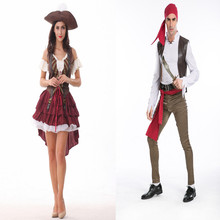 Buy Fantasia Disfraces Sexy Pirate Costume Sailor Cosplay Halloween Costume Woman Exotic Apparel game uniform for $29.74 in AliExpress store