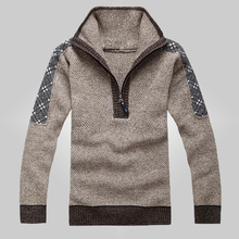 Men's Pullover Cotton Sweater Pullovers Designer Mens Sweaters Crochet Patterns Mens Sweaters Free Shipping DL 41(China (Mainland))