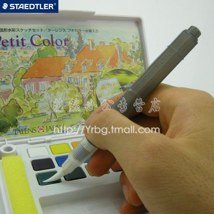 Staedtler water brush Large stylizer calligraphy watercolor brush pen<br><br>Aliexpress