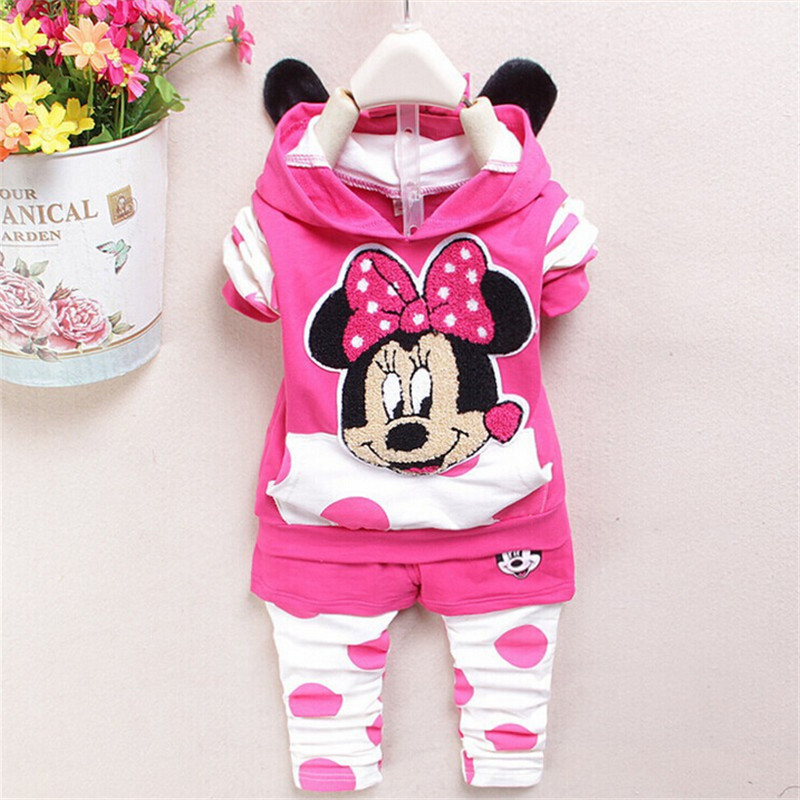 new spring/autumn baby girls clothing set  kids girls fashion clothes set  children casual hoodies+pants 2 pcs suit