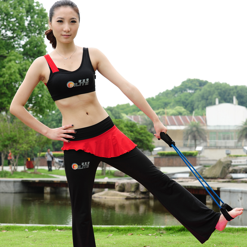 Pull rope yoga weight loss body shaping fitness equipment tension device home fitness(China (Mainland))