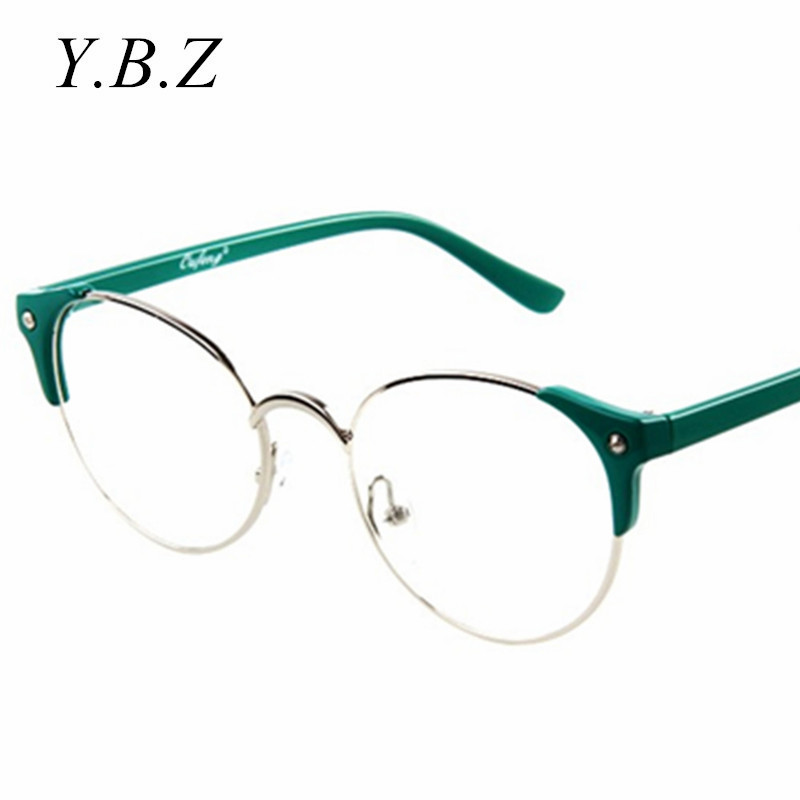 High Quality Rimless Glasses Frame Cat eye Anti UV optical ...