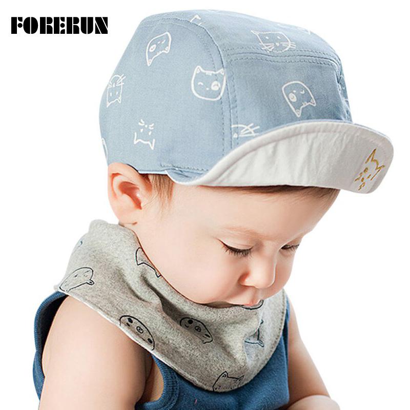 2016 New Baby Hat with Beard Stars Cat Animal Cartoon Kids Baseball Hat Baby Boy Beanies Summer Soft Cotton Caps Girls Visors(China (Mainland))