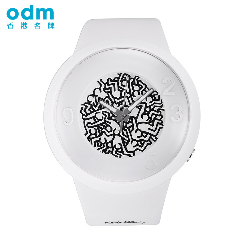 ODM DD127 watches men luxury brand new jelly watch Korean fashion waterproof big dial quartz watch men women relogio feminino<br><br>Aliexpress