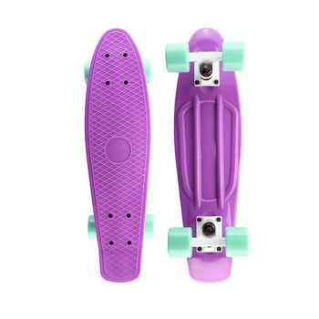 "Pastel Color Penny Board 22"" Penny Skateboard Complete Backpack mini long board Boy Girl Retro Cruiser skate board Mint(China (Mainland))"