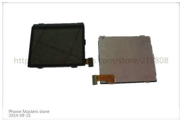 10Pcs/lot For BlackBerry Bold 9700 001 002 004/111 LCD Screen Display black and white colour free shipping by DHL(China (Mainland))