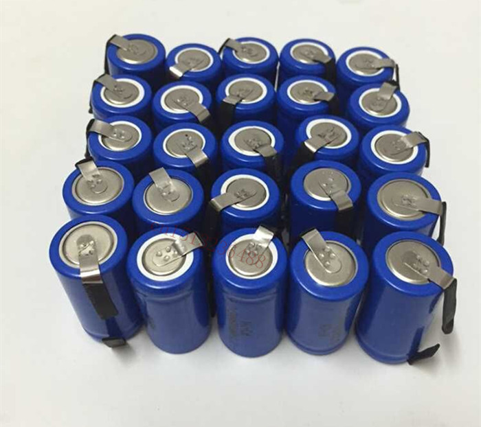 30pcs/lot AA Ni-Cd 1.2V 2/3AA 600mAH rechargeable battery NiCd charging Batteries - Blue Free Shipping(China (Mainland))