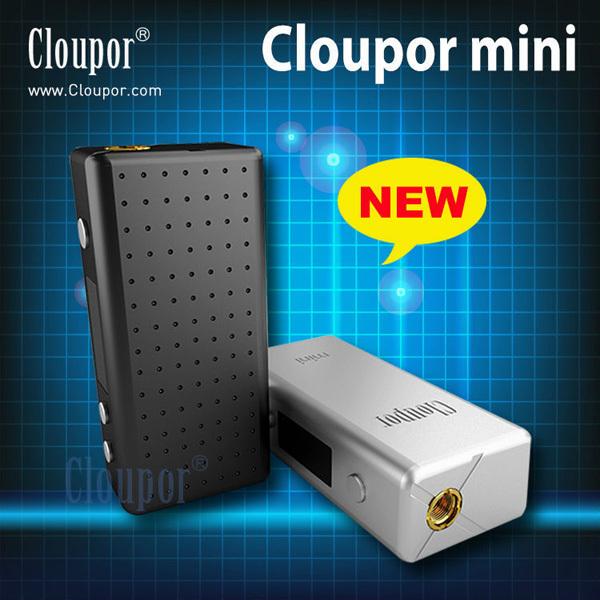 Original Cloupor Mini 30W VV VW Mode Box Mod Mini Size fit for RBA Atlantis RDA