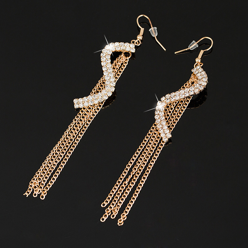 Buy free shipping gold silver earring for Costume jewelry for evening gowns