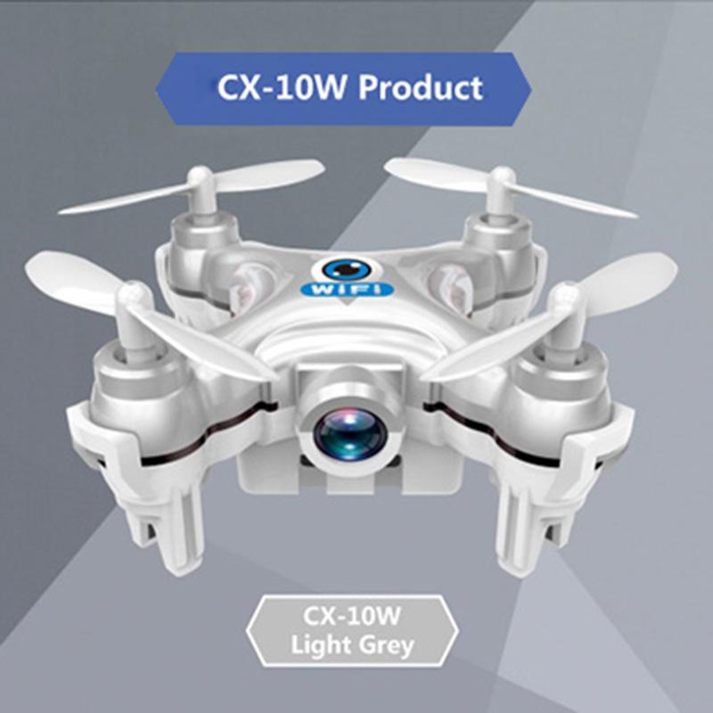2016 Cheerson CX-10W CX 10W Drone Dron Quadrocopter RC Quadcopter Nano WIFI Drone with Camera 720P FPV Mini Remote Control Drone(China (Mainland))