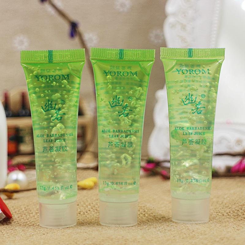 New Natural Aloe 13G Moisturizing Bites Skin Damage Repair Aloe Vera Gel Face Care Cream(China (Mainland))