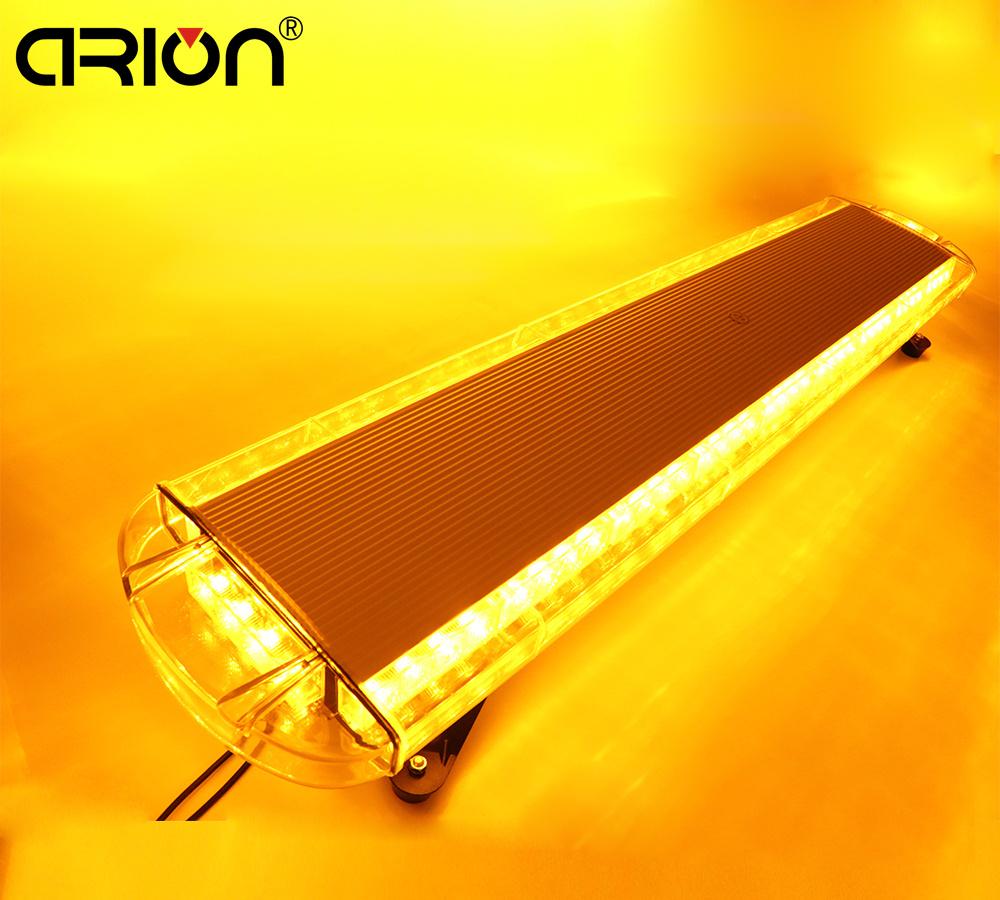 "CIRION 42"" 80 LED Strobe Light Bar Fireman Flashing Police Emergency Warning Flash Stroboscope Led Police Lights Amber Yellow(China (Mainland))"