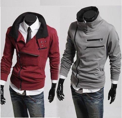 FREE SHIPPING/long sleeve/autumn and winter/men's clothing//coat / 2013/badges/jacket