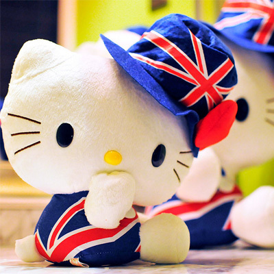 30-40cm hello kitty kids anime plush toys brinquedos juguetes pelucia peluches Plush Animals dolls(China (Mainland))