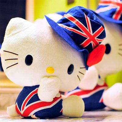 30-40cm hello kitty kids anime plush toys brinquedos juguetes pelucia peluches Plush Animals dolls(China (Mainland))