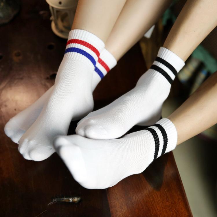 ZDL118 N012 New Cotton Socks Casual Sports Women Socks Men Socks Wholesale Couples Socks