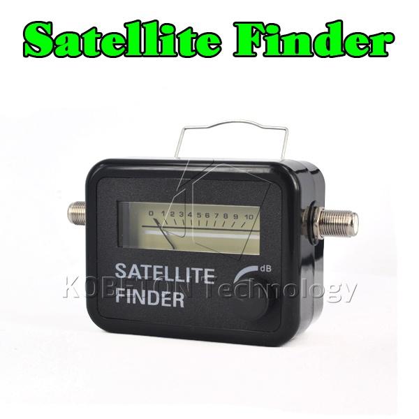 Satellite Finder Tool Meter For SAT DISH TV lnb direc TV satfinder Meter Network Satellite Dish localizador de satelite digital(China (Mainland))