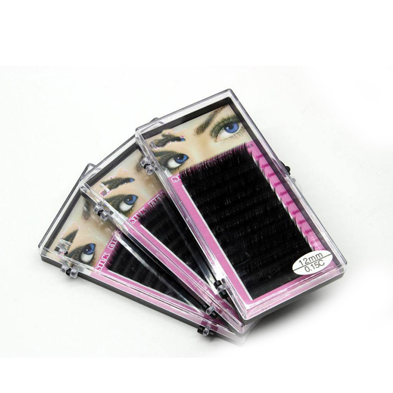 1pcs Makeup Thick Fake Eyelashes Curl Individual Mink Eyelash Extension Tools Artificial Volume Lashes Fake False Eyelashes(China (Mainland))