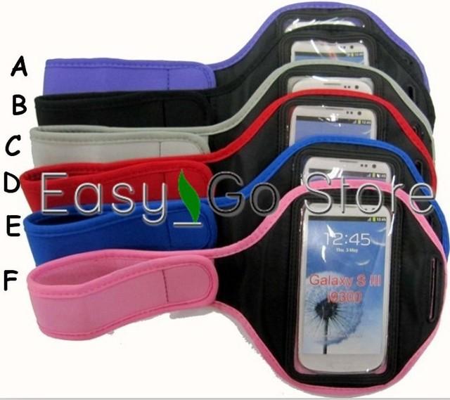 1pcs Universal Use Sports Armband Workout Running Armband Case Holder For Samsung Galaxy S3 i9300 S4 i9500