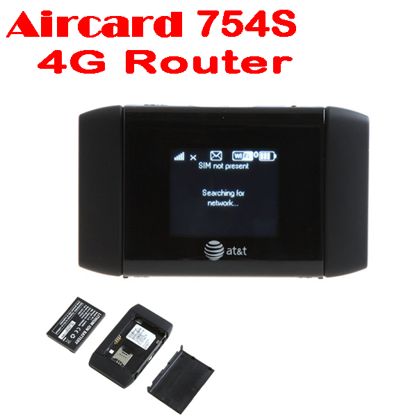 50% shipping fee 5 pieces New Arrival AT&T Sierra Wireless Mobile Hotspot Modem WiFi Elevate 4G MiFi Router Aircard 754S(China (Mainland))