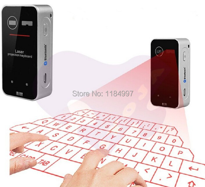 100pcs 3in1 bluetooth laser projector keyboard mouse for Bluetooth projector for iphone 6