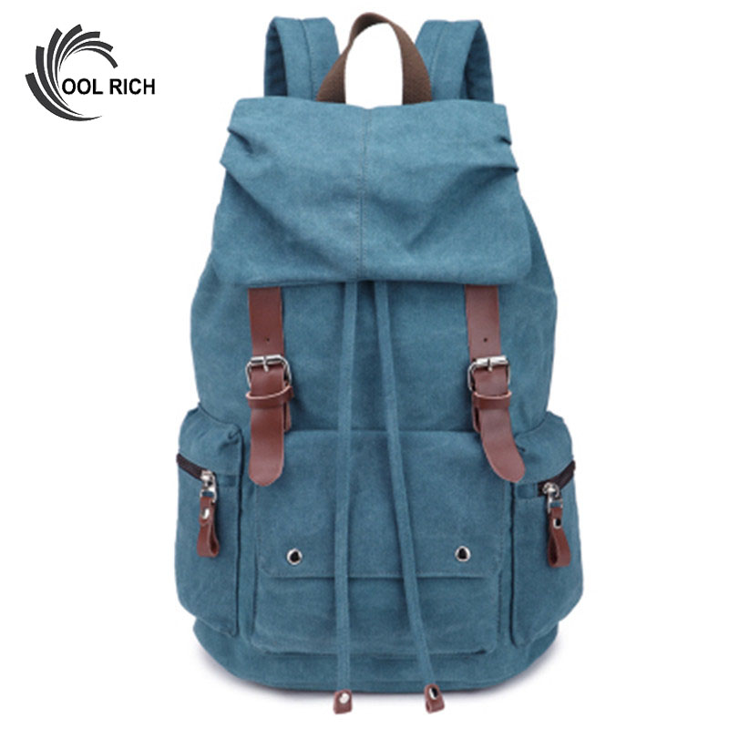 Retro Vintage Canvas Backpacks For Men Middle Students School Bags Casual Backpack Mens Bag Travel Backpack<br><br>Aliexpress