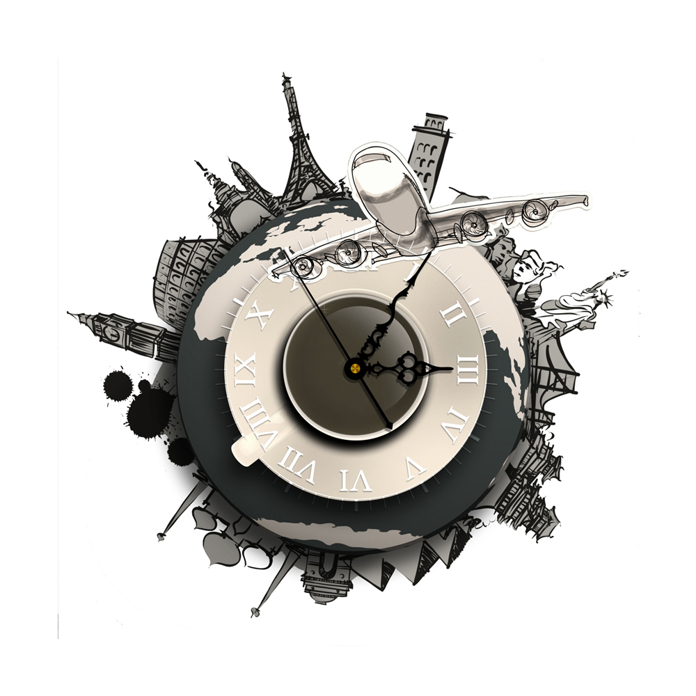 pics photos for sale 3d wall sticker clocks wallstickers folies spiral clock wall stickers