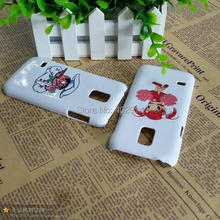 Glass DIY 3D Blank sublimation Case cover Full Area Printed For Samsung Galaxy s3 mini i8190