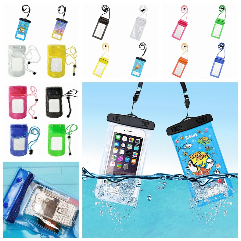 Cheapest Universal PVC Swimming Bag Case waterproof Pouch for iPhone 6 Plus/5S 5C 4S Note 3 Samsung Galaxy S6/5/4 mobile phone(China (Mainland))