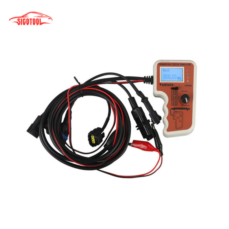 CR508 Diesel Common Rail Pressure Tester And Simulator Free Shipping(China (Mainland))