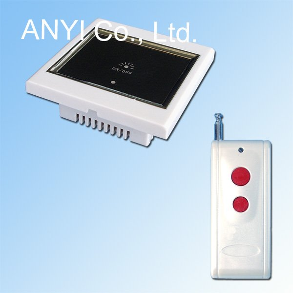 Broadlink Smart Home Control 1 Gang Wireless Remote Control Touch Wall Light Switch System,Fireproof PC Material,LCD Display(China (Mainland))