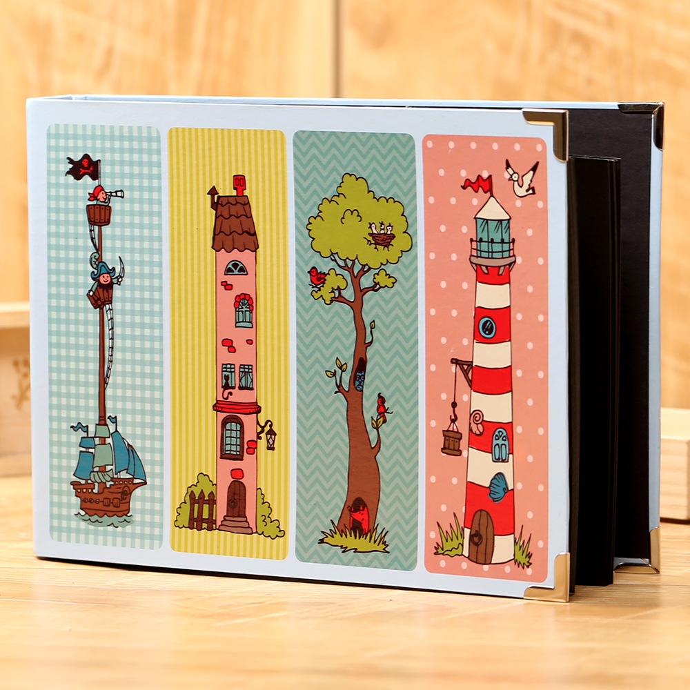 Quality Photo Albums: High Quality Inner Box Diy Photo Album Baby Couples People