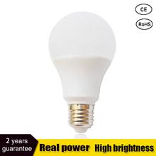 Buy led lamp e27 led bulb B22 3W 5W 7W 9W 12W 15W 110v 220V smd2835 led light bulb Lampada Cold Warm White Spotlight light for $1.12 in AliExpress store