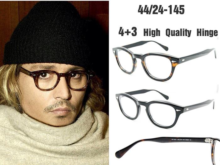 Glasses Frames Johnny Depp : High Quality oculos Johnny Depp Round Retro Vintage ...