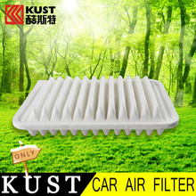 KUST Non-woven Fabrics Material Car Air Filter For Toyota For RAV4 2013 2014 2015 Interior Cleaning Air Cleaner For RAV4 2016(China (Mainland))