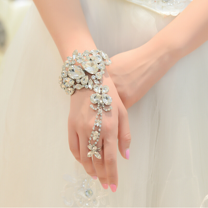 Online Buy Wholesale Hand Flower Bracelet From China Hand