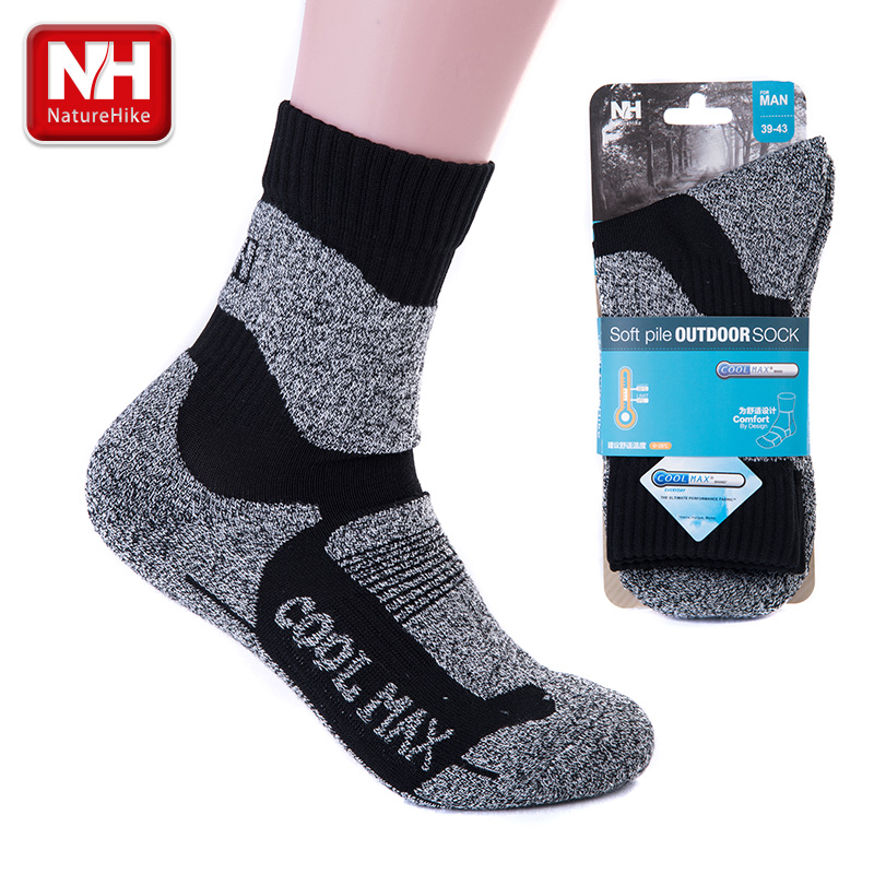 POINT BREAK NH15A003-W Fast Dry Sweat Full Thickness Drying Outdoor Climbing Men's Sports Socks(China (Mainland))