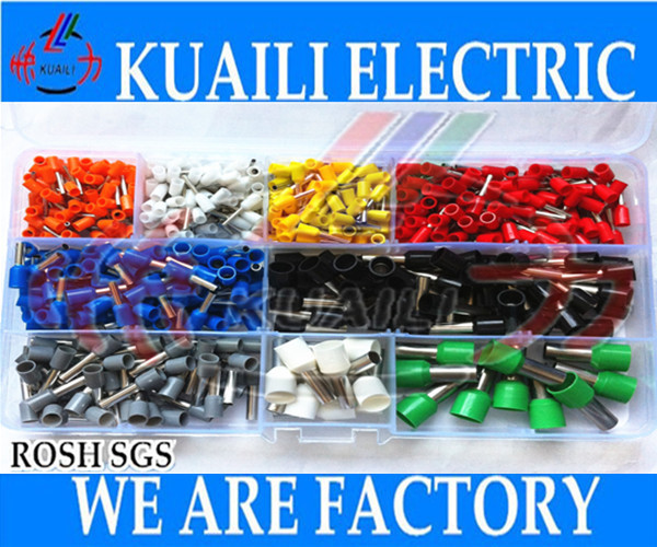 620PCS terminal kit german color assortment insulated cord end terminal<br><br>Aliexpress