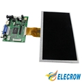Elecrow Raspberry Pi 3 Display 7 Inch TFT LCD Module 800x480 HDMI Interface TFT Display for