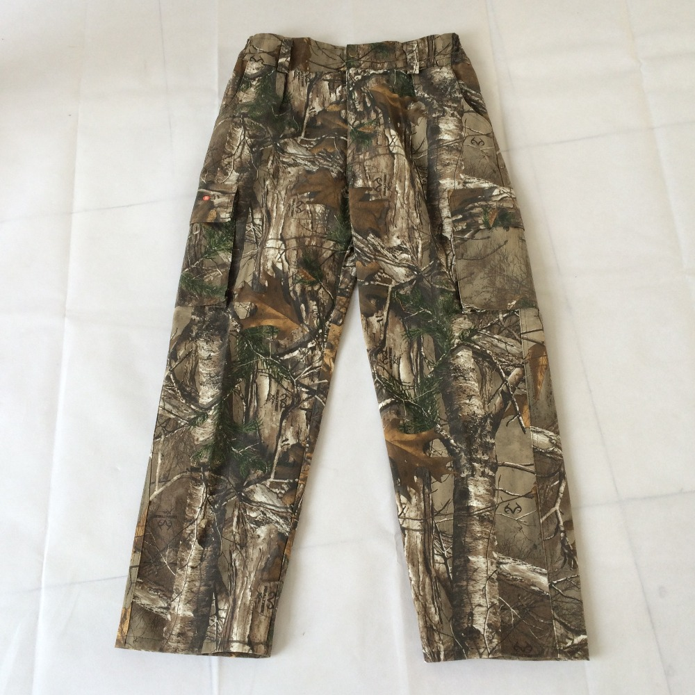 Men hunting pants 2016 new hunting camouflage military tactical pant army pants camo hunting trousers(China (Mainland))