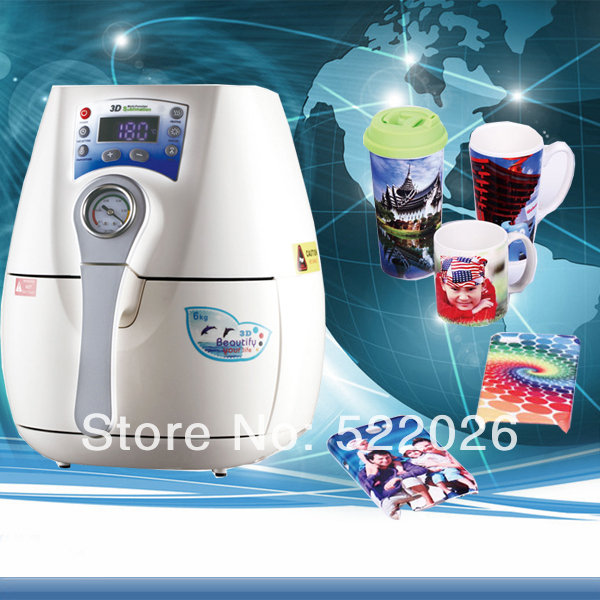 2016 New Free Shipping Mini 3d Vacuum Sublimation Machine Including All Accessories Heat Transfer For Phone Case,mug,plate,etc.(China (Mainland))