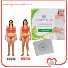 30pca/lot Health Care Strong Efficacy Fat Loss Products 7x9CM Weight Loss Plaster For Adults