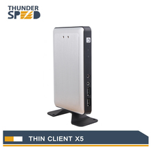 2016 Newest Linux Embedded Thin Client PC Station Mini PC X5 Connect Server via RDP8.0 Protocol with Free Shipping(China (Mainland))