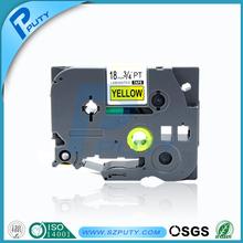 20pcs Compatible P-Touch label printer tape tze-641 tz-641 black on yellow 18mm