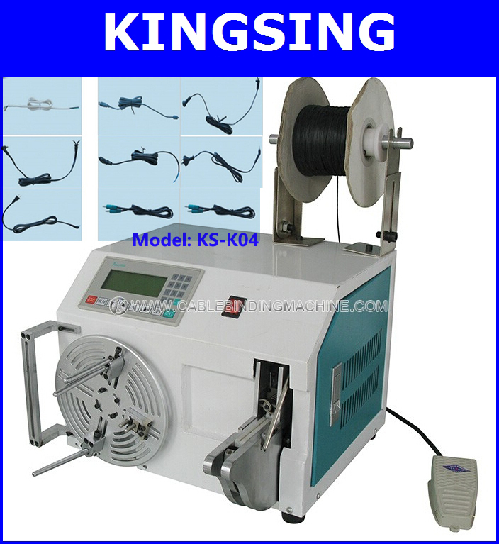High-quality Cable & Wire Coiling Tool , Wire Tying Machine KS-K04 + Free Shipping ! air express by DHL/ Fedex(China (Mainland))