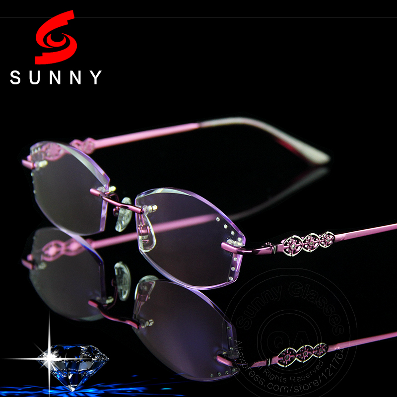 Popular Women Rimless Glasses-Buy Cheap Women Rimless ...