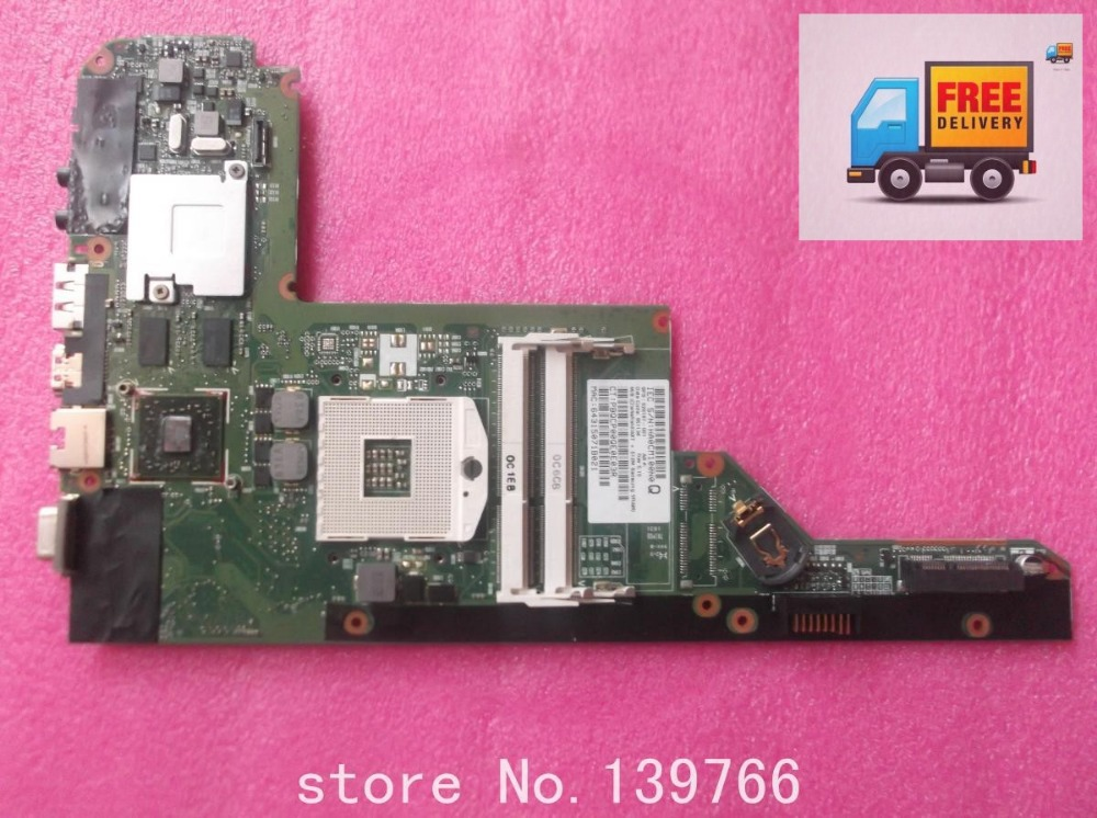 628187-001 board for HP pavilion DV3 laptop motherboard with INTEL hm55 chipset(China (Mainland))