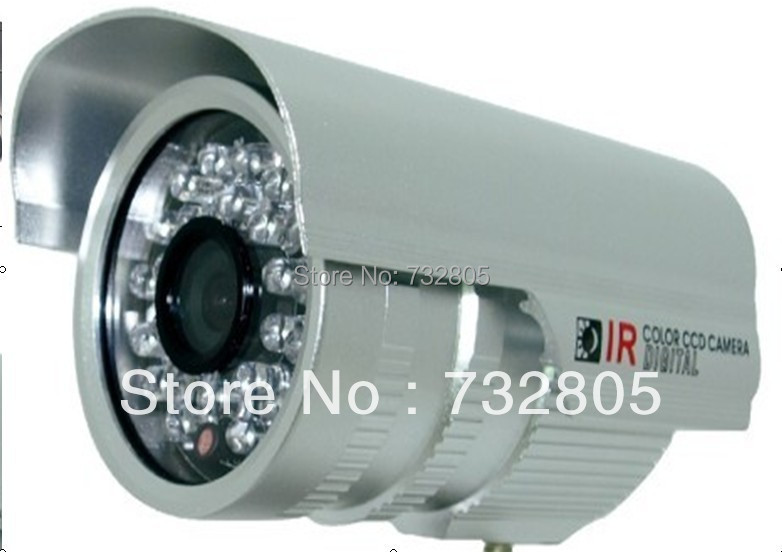 Low price 420TVL f3.6/6mm Waterproof Day/Night IP65 CCD SHARP CCTV Camera TVS-60SP(China (Mainland))