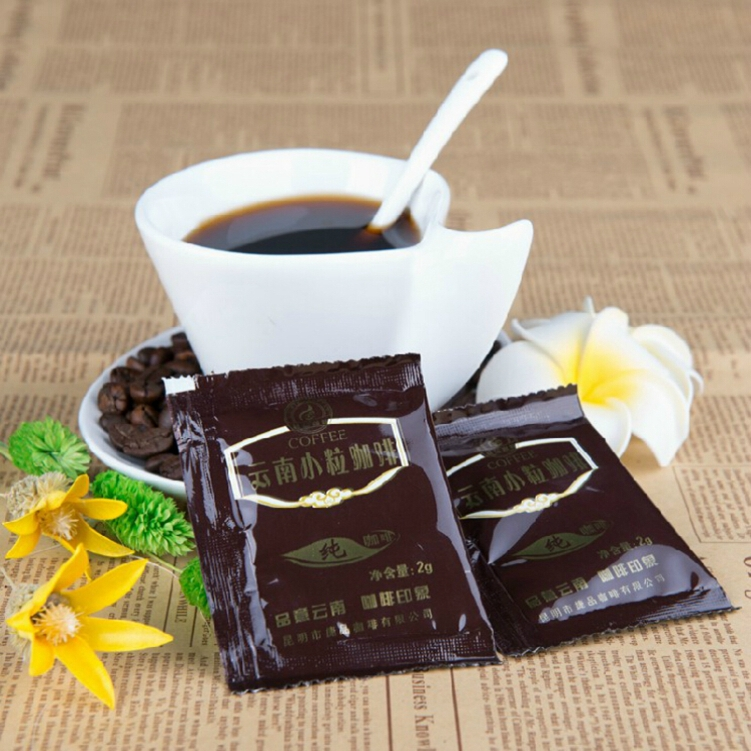 2015 Top Fashion Special Offer Bag Food Free Shipping Yunnan Specialty Dolce Gusto Black Coffee Tea(China (Mainland))